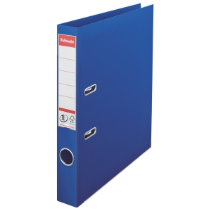 Esselte lever arch file PP spine 50 mm blue