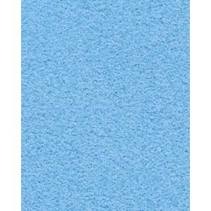 Folia velours papier 50 x 70cm blauw - pak van 10