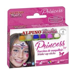 Alpino make-up prinses - pak van 6