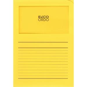Elco 420505 Ordo window folder yellow - box of 100
