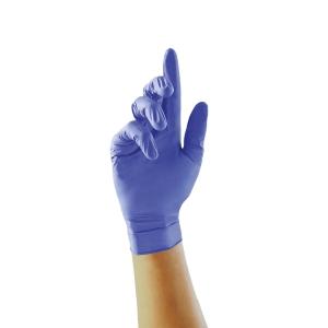 Unigloves Zero accelerator-free nitril handschoenen, maat M, doos van 100 stuks