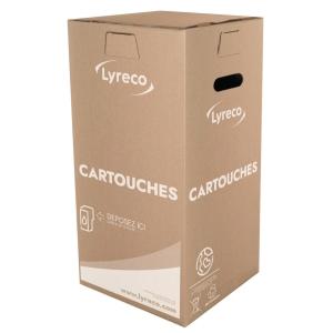 Inkjet cartridges recycling box