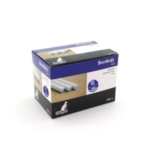 Stofvrij krijt wit - doos van 100 stuks