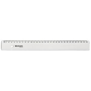 Ruler graphoplex lyreco N°31 30 cm transparent