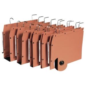Elba TUB suspension files for cupboards V 330/250 orange - box of 25
