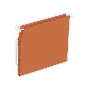 Lyreco Budget suspension files for cupboards 15mm 330/275 orange - box of 25