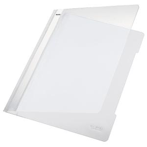 Leitz 4191 snelhechtmap A4 PVC wit