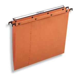 Elba AZO Ultimate hangmappen laden V-bodem 365/250 oranje - doos van 25