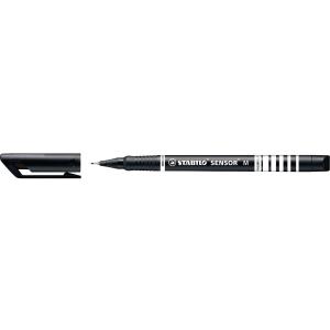 Stabilo® Sensor 189 fineliner, fijn, zwart, per stuk