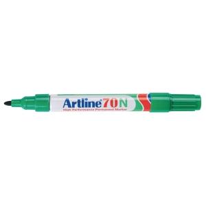 Artline 70N permanente marker, fijn, ronde punt, groen, per stuk