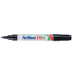 Artline 70N permanente marker ronde punt 1,5 mm zwart