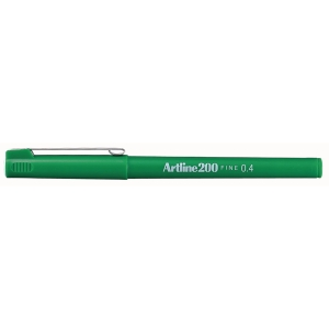 Artline Fineliner 200 0,4mm groen