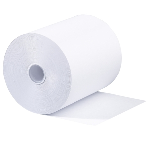 Machine rolls width 76xdiameter 70mm woodfree white - pack of 5
