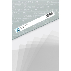 Glama Basic clear tracing paper A4 92g - pack of 250 sheets