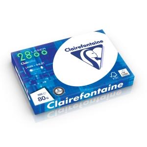 Clairefontaine papier 2252 A3 80g - 1 doos = 5 pakken van 500 vellen