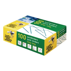 Loeff s Patent bindbeugels 10cm archiveringstoebehoren - doos van 100