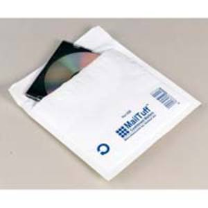 Mail Tuff air bubble envelopes 180x160mm white - box of 100