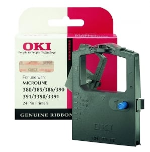 OKI ML390 original ribbon black