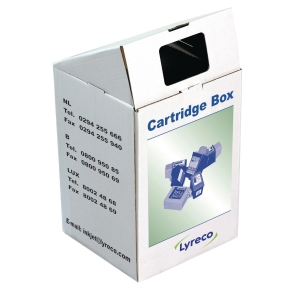 Ophaalbox lege inktcartridges