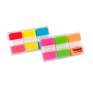 Post-It 686PGO index Strong 25x38 mm 3 neon kleuren