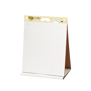 Post-it® Super Sticky Zelfklevende Table Top Chart, wit, 584 mm x 508 mm, 1 blok
