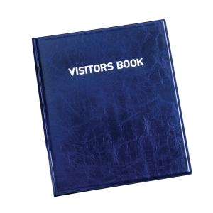 Durable 1463 Visitors Book met 100 badges Engels