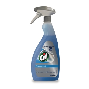 Cif Professional glas- en interieurreiniger, 750 ml, per spray