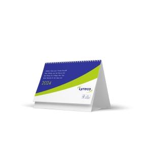 Lyreco bureau maandkalender 15x20cm