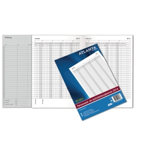 Jalema Atlanta company formulars activity/personnel planner 8 pages