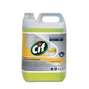 Cif Professional schoonmaakmiddel polyvalent allesreiniger 5 l citroen