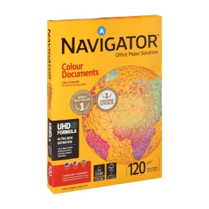 Navigator Colour Documents premium wit A4 papier, 120 g, per 250 vellen