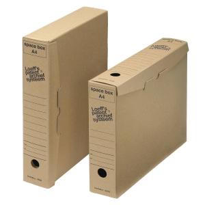 Loeff s Patent Spacebox archiefdozen A4 karton 600g 24x32x6cm - pak van 50