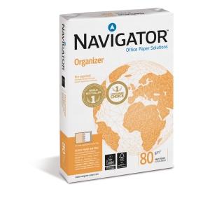 Navigator Universal premium papier A4 80g 4 perforaties - pak van 500 vellen