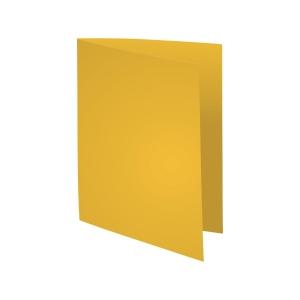 Exacompta Foldyne folders cardboard 180g yellow - pack of 100