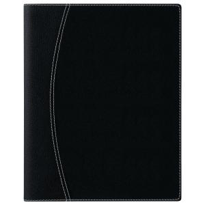 Brepols Timing 136 desk diary with Ferrara cover black