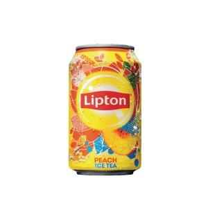 Lipton Ice Tea peach can 33 cl - pack of 24