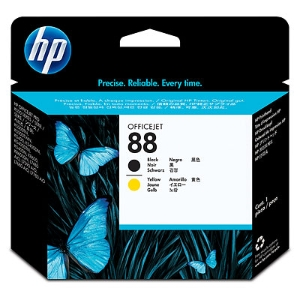 HP C9381A print head inkjet cartridge nr.88 black/yellow [90.000 pages]