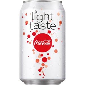 Coca-Cola Light frisdrank, pak van 24 blikken van 33 cl