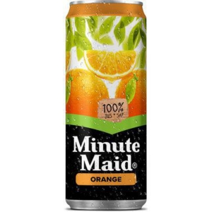 Minute Maid sinaasappel frisdrank blikje 33 cl - pak van 24