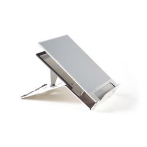 Bakker Elkhuizen Ergo Q220 mobiele laptopsteun in aluminium