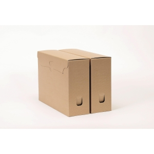 archive box folio 36x26x spine 11cm cardboard 850g - pack of 50