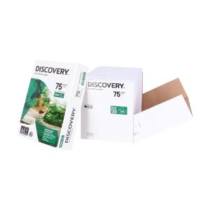 Discovery ecologisch wit papier A4 75g - doos van 2500 vellen