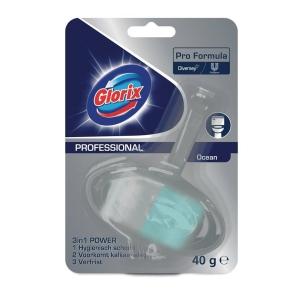 Glorix WC-blok Ocean voor toilethygiene 40 g