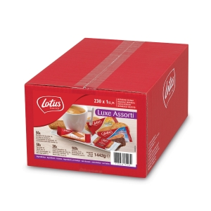 Lotus luxe assortment of biscuits - box of 230