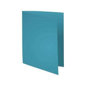 Exacompta Foldyne folders cardboard 180g blue - pack of 100