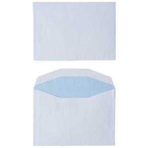 Standard envelopes 114x162mm gummed 80g - box of 500