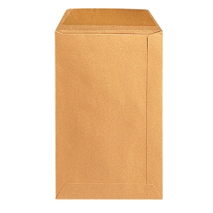 Bags 240x340mm gummed 90g brown - box of 250