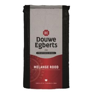 Douwe Egberts koffie Rood snelfilter - pak van 250 gram