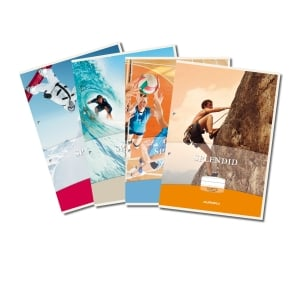 Splendid notebook A4 - 36 pages - 10 mm squared