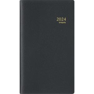Brepols Notaplan 716 pocket diary with Genova cover black